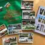 Magnets and postcards