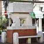 The art along the Street of Pontedera